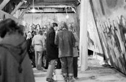 Vagrancy Project opening night, 1973