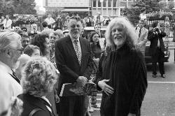 Sir Terry Waite at Retrospective Exhibition, Plymouth City Museum & Art Gallery, 1997